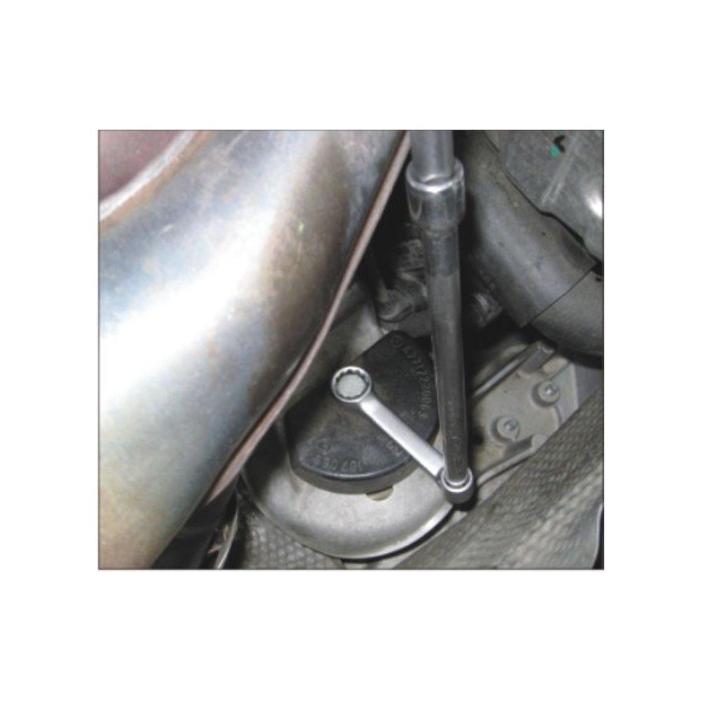 JTC-4694 BENZ ENGINE FIXING SCREWS WRENCH 17MM 12PT W140 W210 W202 W126 W124...